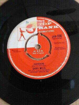 Top Rank - 1960 - Garry Mills - 45 Rpm 7  Single Vinyl Record - Look For A Star • 1£