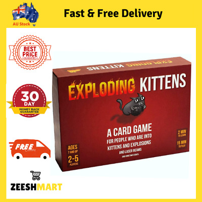 AU37.84 • Buy Exploding Kittens Original Party Card Game 04