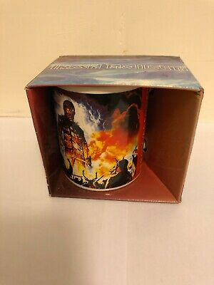 Iron Maiden Wicker Man Mug Cup Boxed New • 7.50£