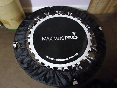 Rebound MaXimus Bounce PRO Workout Trampoline For Adults Folding Rebounder • 49.99£