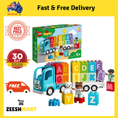 AU35.90 • Buy LEGO DUPLO My First Alphabet Truck 10915 ABC Letters Learning Toy For Toddlers
