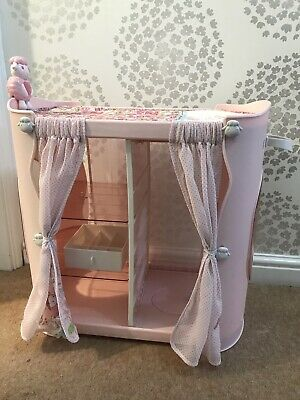 Baby Annabell 2 In 1 Baby Unit Wardrobe / Changing Table Dolls Accessories • 16£
