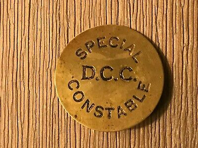 Obsolete Durham County Constabulary Special Constable Badge • 15£