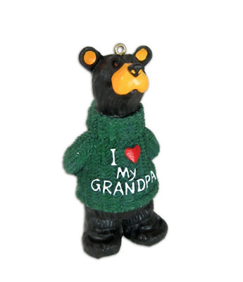 Bearfoots Bear I Love My Grandpa Ornament Christmas • 8.48£