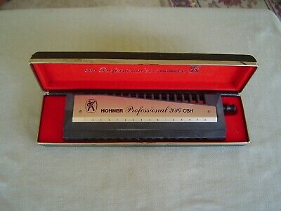 $312.50 • Buy Early Production  Professional 2016 Cbh  Chromonica In  C  By M. Hohner  & Case