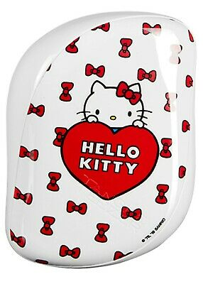 TANGLE TEEZER Compact HELLO KITTY Detangling Hairbrush Christmas Stocking Filler • 5.99£