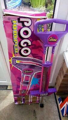 Pogo Stick Jumper Girls Pink/Purple Collection B69. Boxed • 5£