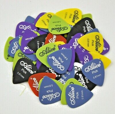 $ CDN4.23 • Buy ❤ 20 BEST QUALITY Guitar Plectrums Picks Alice Acoustic Electric 0.58mm Strings