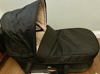 MicraLite Toro Carrycot RARE Black And Beige Cradle Compatible W Bugaboo Buggies • 64.50£