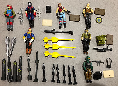 $ CDN9.99 • Buy Gi Joe 1980s Figures And Accessories And Missiles Lot