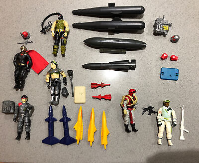 $ CDN11 • Buy Gi Joe 1980s Figures And Accessories And Missiles Lot