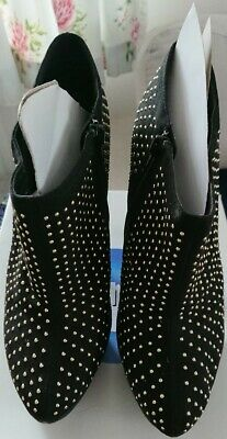 Bnwb Ladies Ankle Boots Size 7.london Rebel • 4.50£