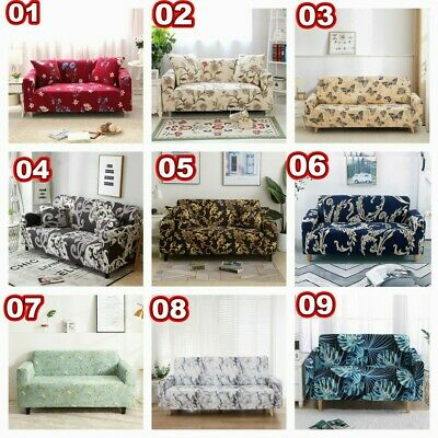 AU27.99 • Buy Slipcovers 1 2 3 4 Seater Covers High Stretch Sofa Cover Couch Lounge Protector