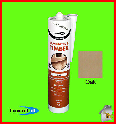 £6.49 • Buy Laminate Floor Silicone Oak Colour Bond It Gap Filler For Timber And Laminate