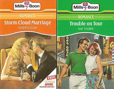 Roberta Leigh STORM CLOUD MARRIAGE And Kay Thorpe TROUBLE ON TOUR Mills & Boon • 2.50£