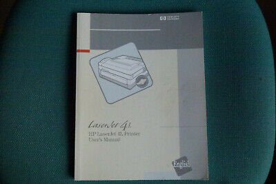HP Laserjet 4L Printer User Manual • 5£