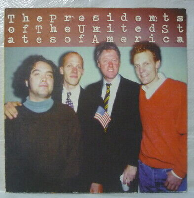 Presidents Of The United States Of America US LP Bill Clinton Cover White Vinyl • 161.26£