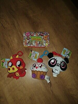 New Moshi Monsters Stuffed Toys And Case • 10£