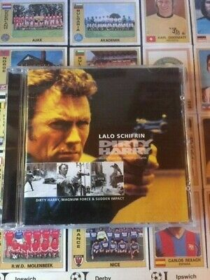 Dirty Harry Soundtracks Inc Magnum Force & Sudden Impact. Lalo Schifrin CD  • 17£