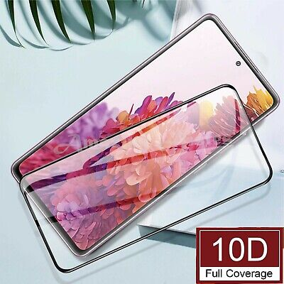$ CDN5.17 • Buy Tempered Glass Full Screen Protector For Samsung Galaxy S21 S20 FE S10 Plus S9