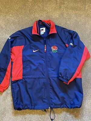 Vintage Players Issue England Rugby Rain Jacket (Nike) • 30£