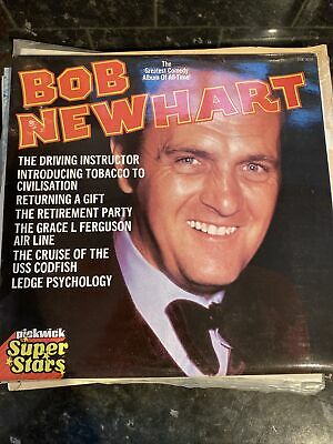 Bob Newhart The Greatest Comedy Album Of All Time Vinyl Lp Record • 1.40£