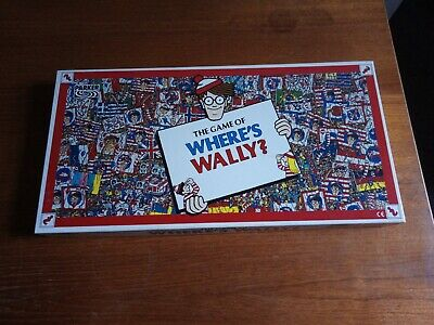 The Game Of Where's Wally? -  Parker Vintage Board Game 1992 • 1.99£