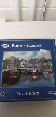 Gibson Puzzle - 'Padstow Harbour' By Terry Harrison • 5£