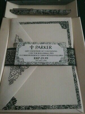 Parker Stationery And Pen Gift Set • 2.50£