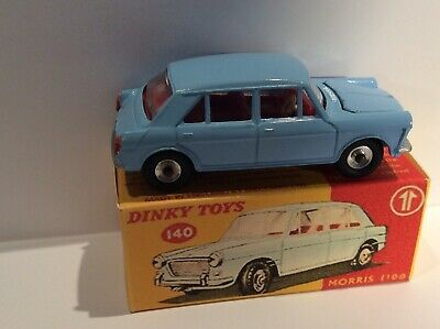 Dinky Toy Morris 1100 In Blue Complete With Box • 23.50£
