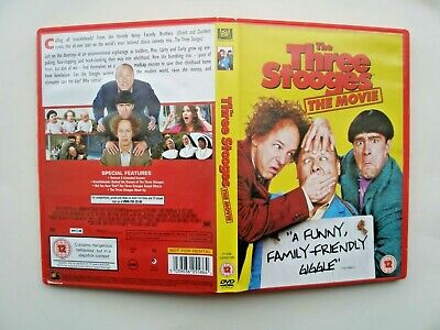 The Three Stooges The Movie Dvd • 2.70£