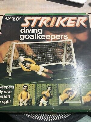 Super Striker Palitoy Diving Goalkeepers Vintage Football Game Parker Players • 12£