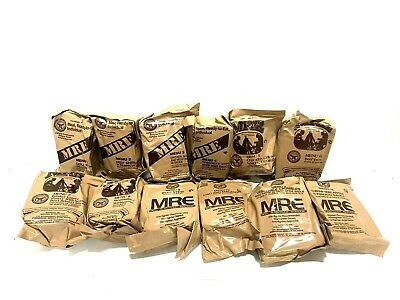 $99.99 • Buy 12 Pack MRE Ready To Eat Meal Military Meals Case Packaged, Sealed, 12 Meals