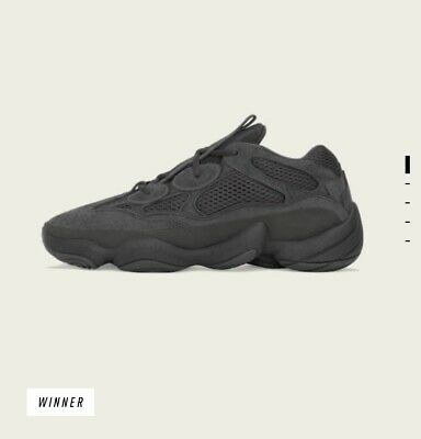 $ CDN361.56 • Buy NEW Yeezy 500 Utility Black F36640 Size 10 *Order Confirmed*