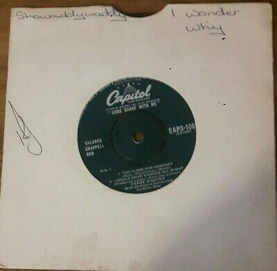 Come Dance With Me   Extended Play 7  45rpm 4 Tracks : Frank Sinatra • 3£