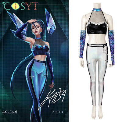$ CDN74.24 • Buy League Of Legends LOL 2020 KDA S10 Kaisa Cosplay Costume Outfit Any Size