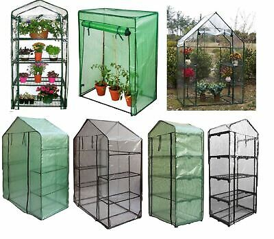 Outdoor Garden Greenhouse Growhouse Replacement Plant Cover Bags Plastic PVC PE  • 22.99£