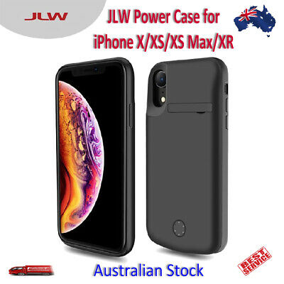 AU47.99 • Buy JLW Smart Fast Charging Power Bank Battery Case For IPhone X XS XS Max XR