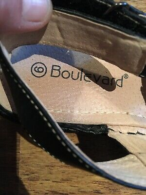 Boulevard Ladies Strappy Wedge Sandals Size 6 - New • 5.50£
