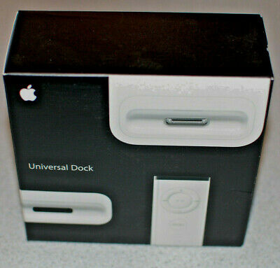 Apple IPod/iPhone Universal Dock MB125G/A 30 Pin Classic Desktop With Adapters • 25£