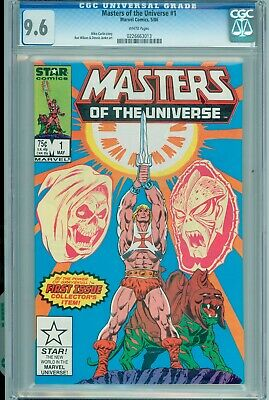 $85 • Buy Masters Of The Universe #1 White Pages Cgc 9.6 He-man