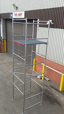 Scaffold Tower Galvanised  Postage Included. NOW WINTER OFFER. • 220£