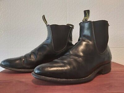 AU9.99 • Buy R.M. Williams Black Leather Boot, Size 8.5 G