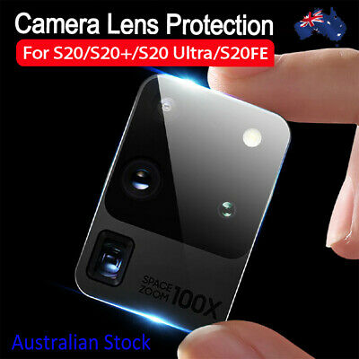 AU4.99 • Buy Camera Tempered Glass Protector For Samsung S20 S20+ S20 Ultra S20 FE