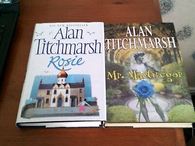 2  Alan Titchmarsh  Signed Books H/b • 19.99£