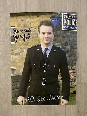 JOE McFADDEN Signed 16x12 Photo HEARTBEAT PC Joe Mason • 20£