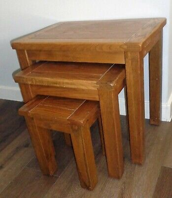 Nest Of 3 Tables • 25£