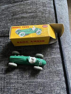 Dinky Toys 223 Cooper Bristol Racing Car Boxed Little Use  • 50£