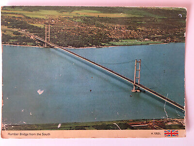 Humber Bridge Postcard - From The South - Dennis - Posted 1982 • 1.99£