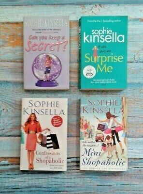 Sophie Kinsella Book Bundle - 4 Books In Very Good Condition - Shopaholic Series • 5.99£